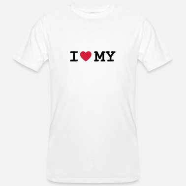 I Love My i love my - Men's Organic T-Shirt