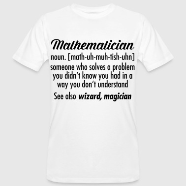 Mathematician - Definition - T-shirt bio Homme