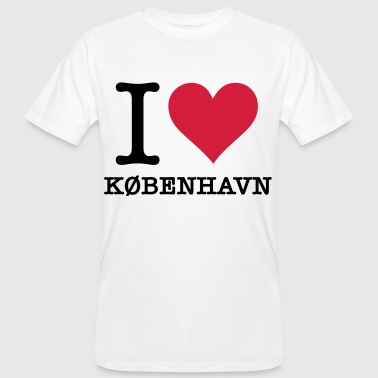 I love Copenhague - T-shirt bio Homme