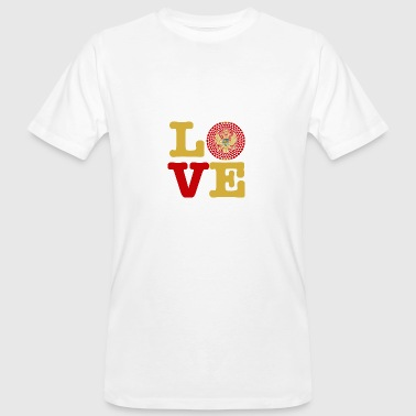 MONTENEGRO HEART - Men's Organic T-shirt