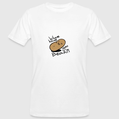 Where have you bean? - Men's Organic T-shirt