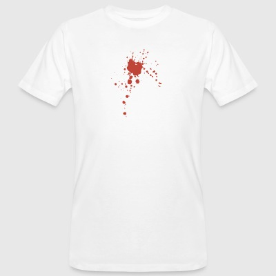 Blood splash - Men's Organic T-shirt