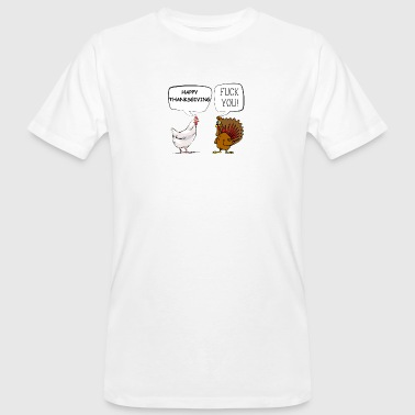 Thanksgiving FU drôle Thanksgiving - T-shirt bio Homme