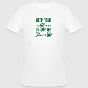 Irland / St. Patrick´s Day: Keep Your Kiss. I´m - Männer Bio-T-Shirt