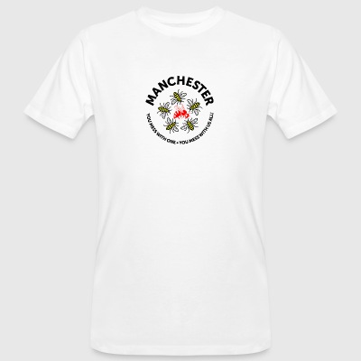 Don't Mess with Manchester - Men's Organic T-shirt