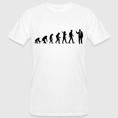 Evolution of Badass - Männer Bio-T-Shirt