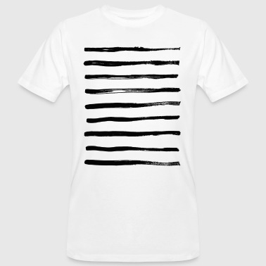 Stripes, stripes, stripes - Men's Organic T-shirt