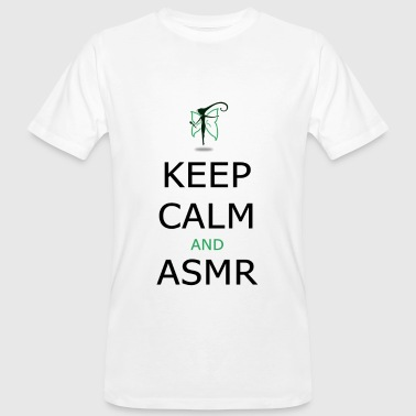 KEEP CALM AND ASMR - T-shirt ecologica da uomo