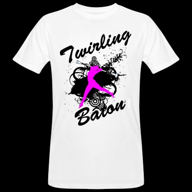 BATON TWIRLING - Men's Organic T-shirt