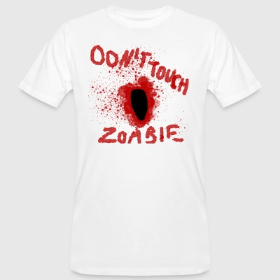 Dont Touch Zombie - Mannen Bio-T-shirt