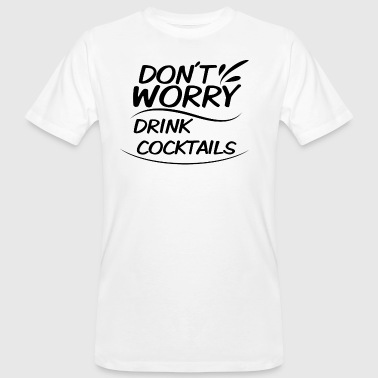 cocktails - Mannen Bio-T-shirt