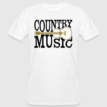musique country - T-shirt bio Homme