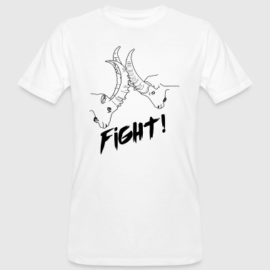 Fight! - T-shirt ecologica da uomo