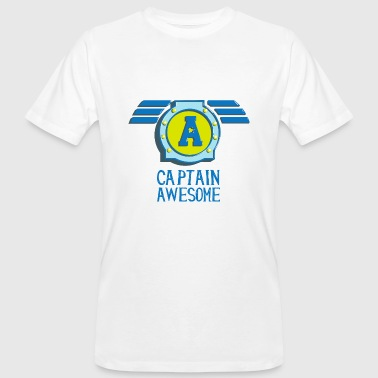 Captain awesome Captain geil self-consciously arrogant - Men's Organic T-shirt