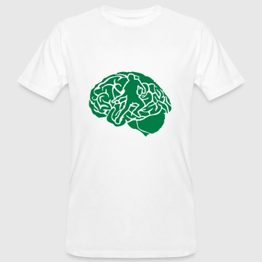 pingpong tennis table cerveau brain cerv - T-shirt bio Homme