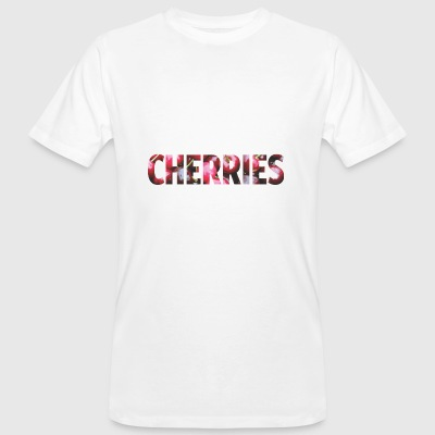 Cherries - Männer Bio-T-Shirt