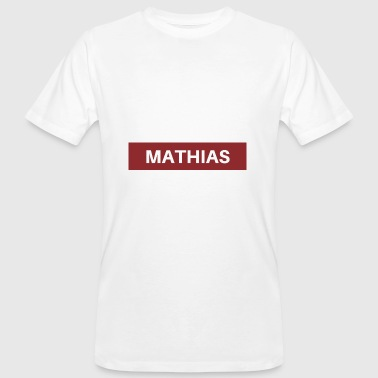 Mathias - Men's Organic T-shirt