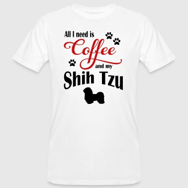 Shih Tzu Coffee - Men's Organic T-shirt