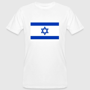 National flag of Israel - Men's Organic T-shirt