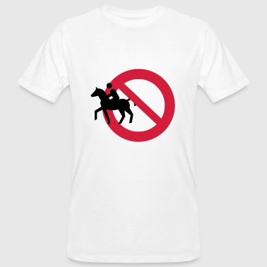 2541614 10616089 Horse riding - Men's Organic T-shirt