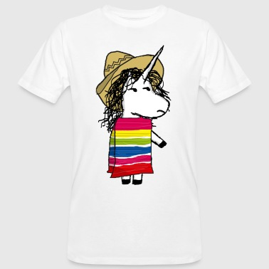 licorne mexicaine - T-shirt bio Homme