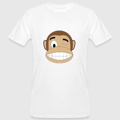 wink monkey - Men's Organic T-shirt
