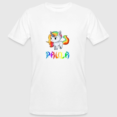 Paula unicorn - Men's Organic T-shirt