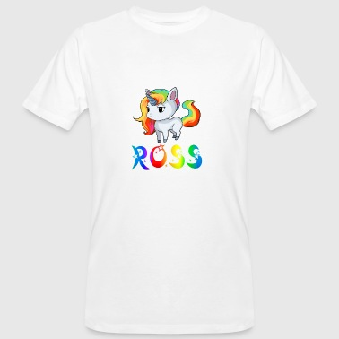 Unicorn Ross - Mannen Bio-T-shirt