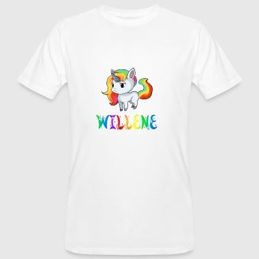 Unicorn Willene - Men's Organic T-shirt