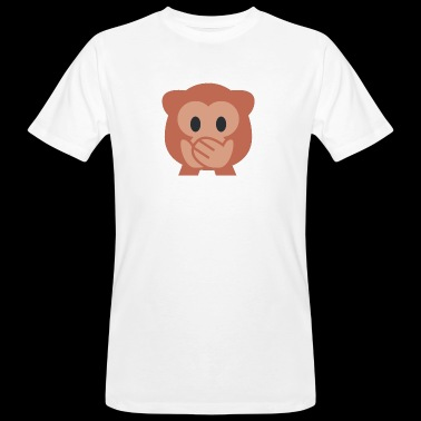 Monkey Emoji - Men's Organic T-shirt