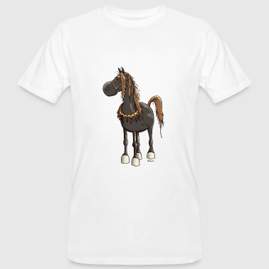 Cute Arabian Horse - Horses - Men's Organic T-shirt