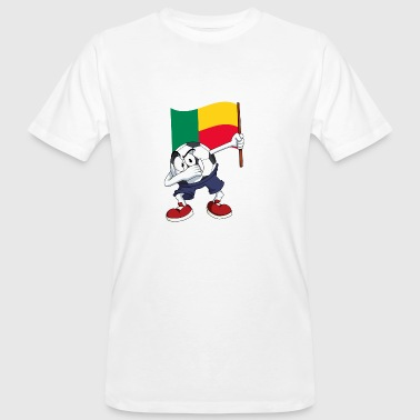 Benin Dabbing football - Men's Organic T-shirt