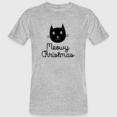 Meowy Christmas - Men's Organic T-shirt