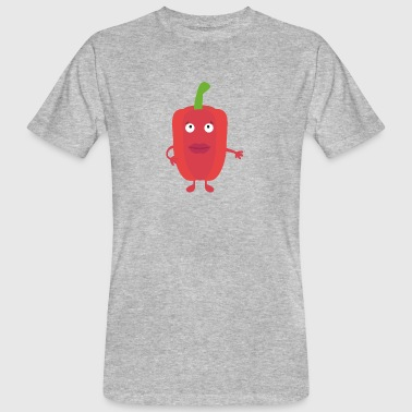 Red pepper - Men's Organic T-shirt