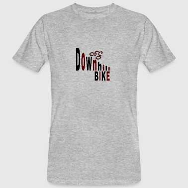 Downhill bike - Men's Organic T-shirt