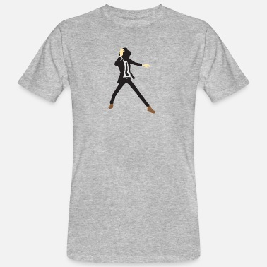 Jazz A Disco Dancer In Suit With Hat - Men's Organic T-Shirt