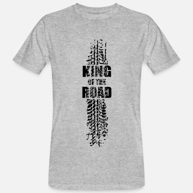 Quietschende King of the road - Männer Bio-T-Shirt