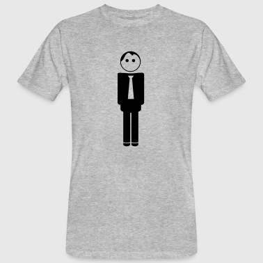 groom / husband to be / bachelor 1c clipart - Mannen Bio-T-shirt