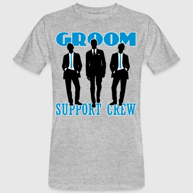Groom Support Crew - Men's Organic T-shirt
