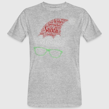SPECtacular Santa with SPECS patjila - Men's Organic T-Shirt