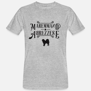 Herding Dog Pastore Maremmano Abruzzese herd protection herding dog - Men's Organic T-Shirt