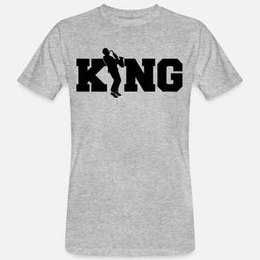 Saxofon Jazz King - Saxophone - Saxofon - Musik - Band - Men's Organic T-Shirt