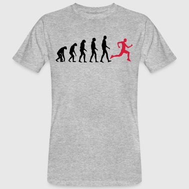 Jogger Evolution - Jogging - Fit-Sport-Fitness - T-shirt bio Homme