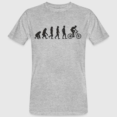 Evolution Bicycle - T-shirt ecologica da uomo