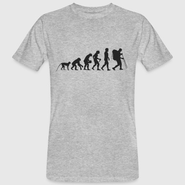 Evolution hiking - Men's Organic T-Shirt