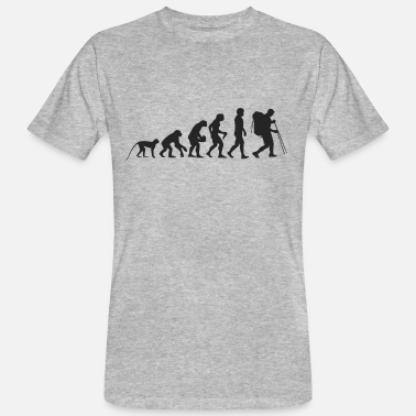 Hiking Evolution Evolution hiking - Men's Organic T-Shirt