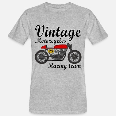 Vintage Motorcycle motorcycles vintage team - Men's Organic T-Shirt