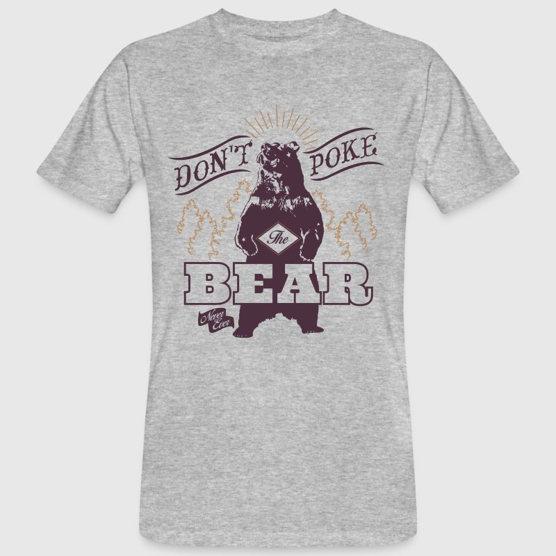 Bear Poke Animal Planet - Men's Organic T-shirt