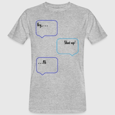 Citations Sms Chat SMS - T-shirt bio Homme