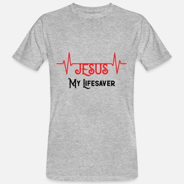 Life Saver Jesus My life saver - Men's Organic T-Shirt